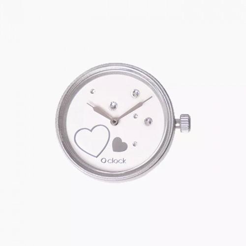O clock .cadran coeur d'étoile